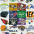 Football Team Logos CAL Style SC, Graph + written line by line color coded block