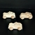 Pkg of 3 Handcrafted Wood Toy Police Cars 148AAH-U 3  unfinished or finished