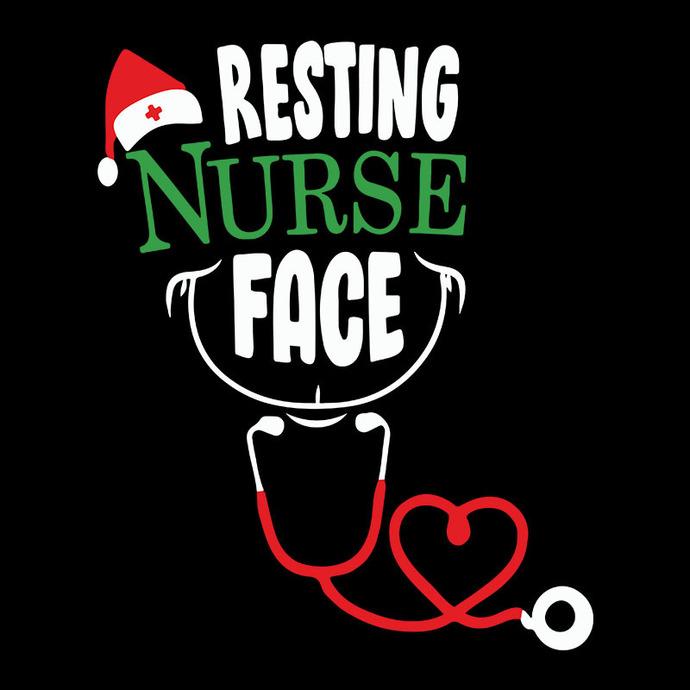 Resting Nurse Face
