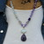 The Transformation Necklace, Beaded Moonstone Necklace, Natural Stone Necklace,