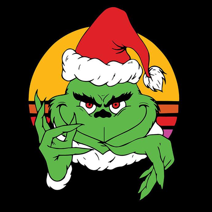 Bundledigital Christmas Grinch Face SVG, Christmas SVG, Miss Grinch SVG, Grinch
