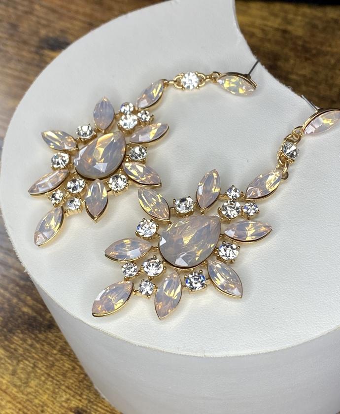 Jewel Star Drop Earrings