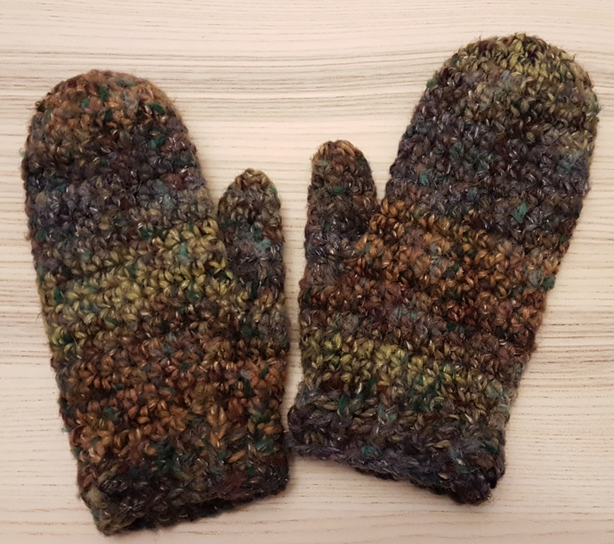 Classic Wool Mittens