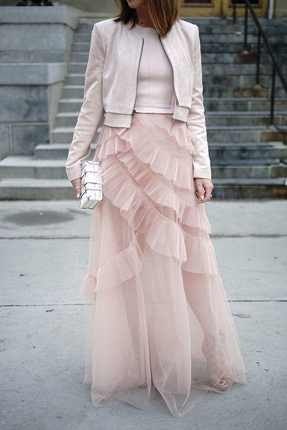 tutu skirt, tulle skirts,A-Line Skirt,Long Spring Autumn Skirt S027