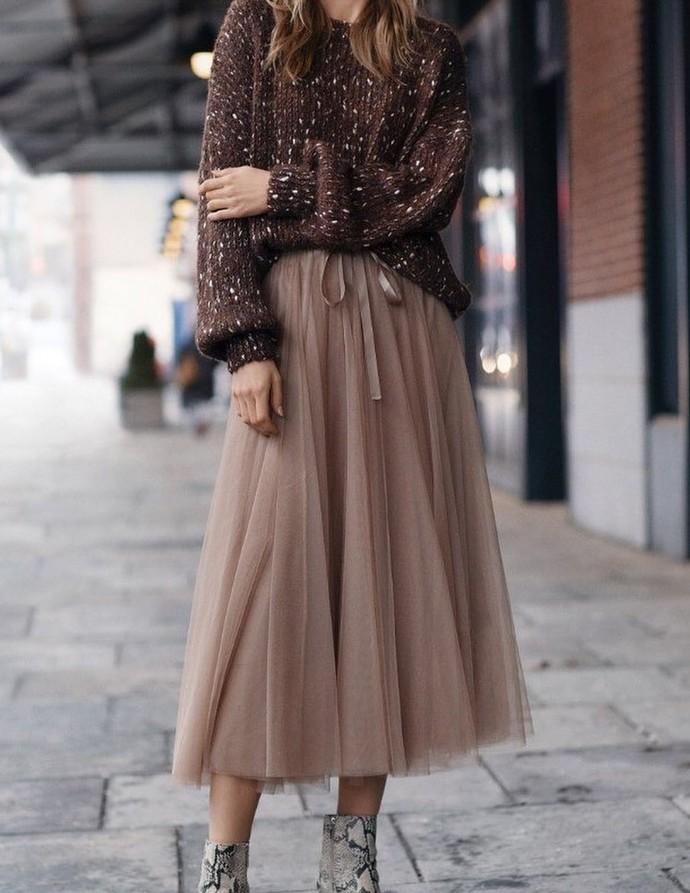 tutu skirt, tulle skirts,A-Line Skirt,Long Spring Autumn Skirt S032