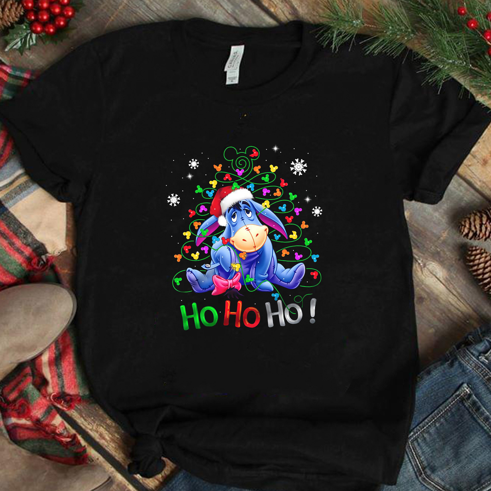 Hohoho Eeyore png, Eeyore png, The Grinch png, funny Grinch png, Christmas png,
