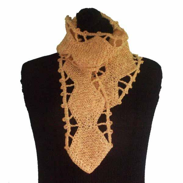 Pink Diamond Chain Scarf