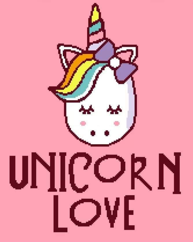 Unicorn Love Throw 170 x 210 sc