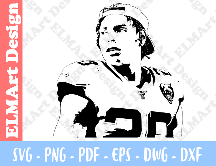 Jalen Ramsey Design Clipart 6 Format Files Custom Shirts Svg Png Pdf Eps Dxf