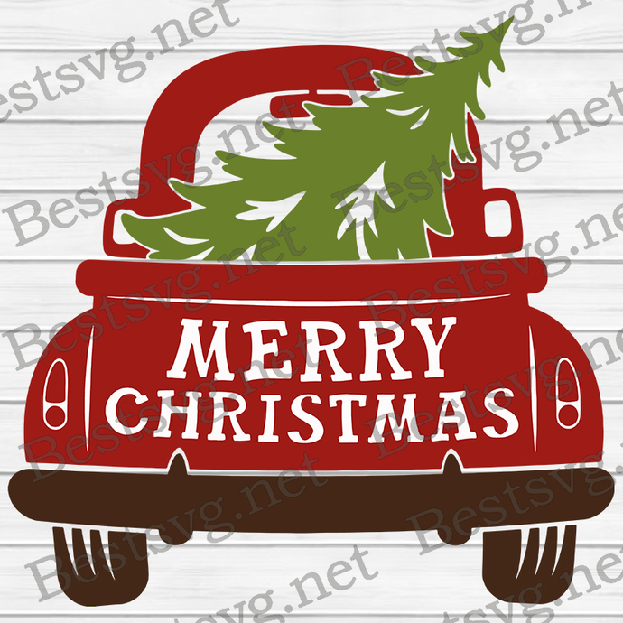 Bundledigital Merry Christmas SVG, Christmas Tree SVG, Christmas SVG, SVG EPS