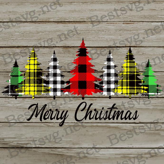 Bundledigital Merry Christmas SVG, Christmas tree SVG, SVG EPS PNG DXF.jpg