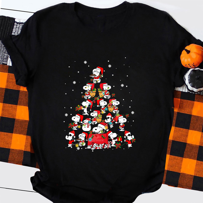 Peanuts Snoopy Svg Charlie Brown Christmas Tree By Thekicks On Zibbet