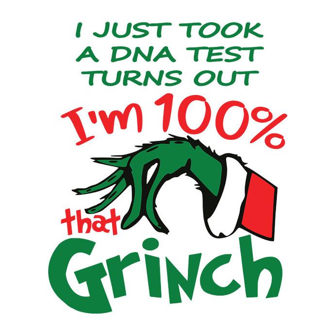 100 Percent that Grinch SVG, The Grinch Xmas Digital