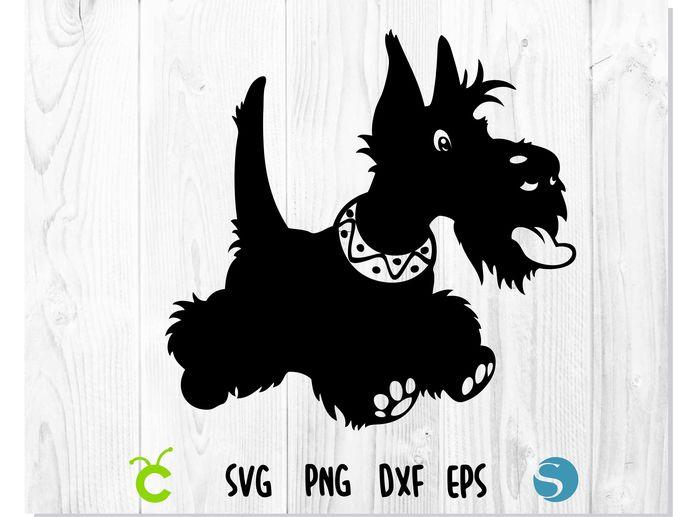 Dog Scottish Terrier SVG   Scottish Terrier svg, Scottish Terrier vector,