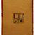 Handmade vintage Persian Gabbeh kilim 6.4' x 8.2' (196cm x 250cm) 1970s - 1C582