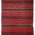 Handmade vintage Persian Ardabil striped kilim 4.5' x 9.4' (139cm x 288cm) 1940s