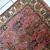 Handmade vintage Persian Lilihan rug 2.2' x 4.5' (68cm x 138cm) 1960s - 1C648