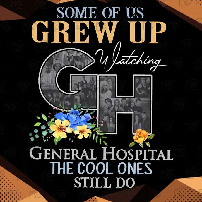 Bundle Digital Some of Us Crew Up Watching CH General Hospital The Cool Ones