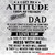 Bundle Digital I get My Attitude Dad From My Freakin'Awesome Dad SVG, I Love Him
