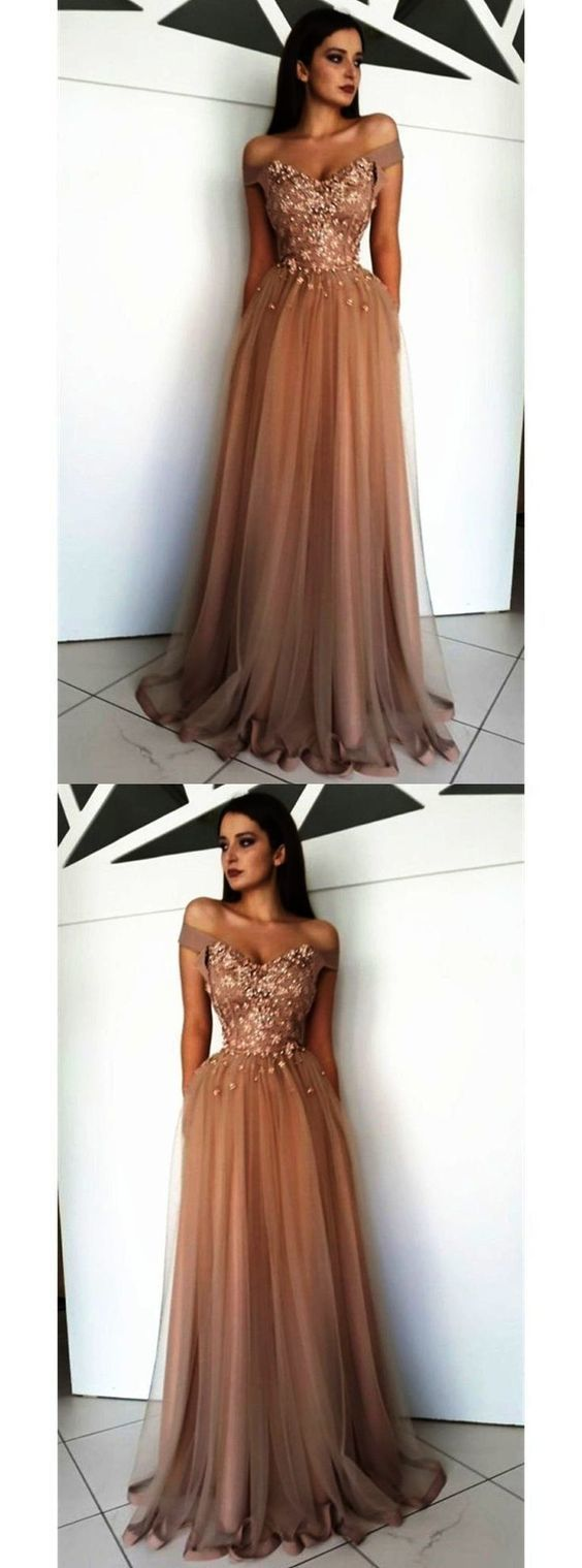 Off the Shoulder Lace Prom Dress M8232
