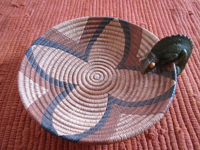 E-P-7 - CURIOUS CHAMELEON SEED BASKET