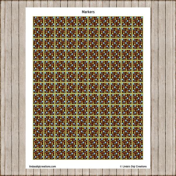 Printable Dino Bingo Game