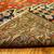 Handmade antique Persian Mazlahan rug 4.1' x 6.3' ( 128cm x 192cm ) 1920 - 1B35