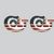 """(2) American Flag Colt Logo Decals - 4"""" wide x 2.5"""" tall - Vinyl Indoor Outdoor"""