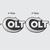 "(2) Brush Metal Style Colt Logo Decals - 4"" wide x 2.5"" tall - Vinyl Indoor"