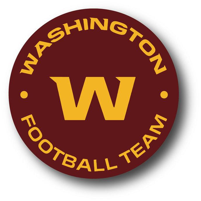 "NEW 4"" x 4"" Washington Football Team Vinyl Decal - Indoor/Outdoor Vinyl - FREE"