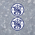 """2x Smith and Wesson Round Decals 4"""" tall - Vinyl Indoor Outdoor - FREE SHIP"""