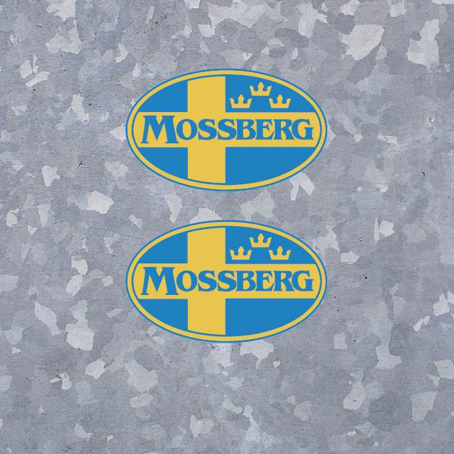 "2x 4"" MOSSBERG Decal Sticker Vinyl Firearms Hunting Outdoor Sports Gun Logo"