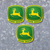 "3x 4"" wide x 4"" tall - John Deere Logo Decals Design 1 - FREE SHIPPING"