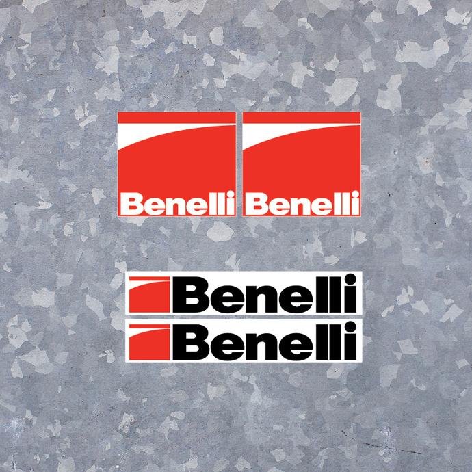 Benelli Decal Set 2 - Stickers Decals Vinyl Shotgun Logo Firearms Hunting