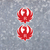 "2x 4"" Ruger Logo Decals - Stickers Decals Vinyl Shotgun Logo Firearms Hunting"