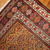 Hand made antique Persian Kurdish rug 4.1' x 7.7' ( 125cm x 235cm ) 1880 - 1B414