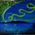 Waiting, She Dreams 16 x 20 Northern Lights Painting, Mount Susitna, Alaska
