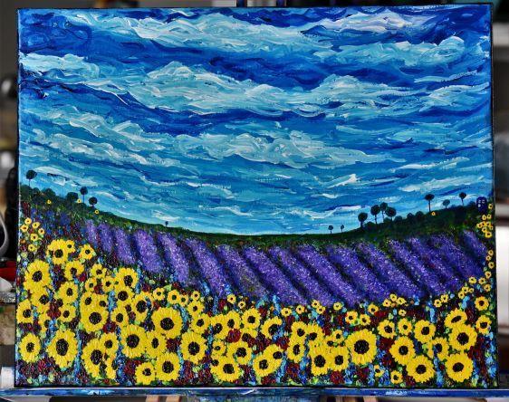 Van Gogh Who? 16 x 20 Painting