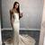 Strapless Mermaid Long Prom Dress,Sexy Evening Dress