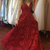 A-line V Neck  Long Prom Dress