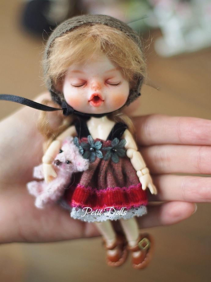 OB11 Dress/OB11 Clothes/OBITSU11 Doll Clothes/PetitDolls