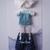 OB11 Boy Dress/Lati Yellow Dress/OB11 Clothes/Lati Yellow Clothes/OBITSU11 Doll