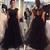 Beading Tulle Prom Dresses,Long Prom Dresses,Cheap Prom Dresses, Evening Dress