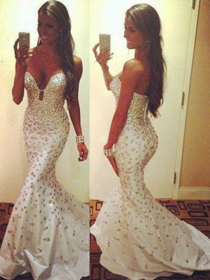 Spaghetti Straps Long Mermaid Prom Dress with Lace Burgundy Party Dress