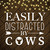 Bundle Digital Easily Distracted By Cows SVG, Funny Cow SVG, Cow Lover SVG,