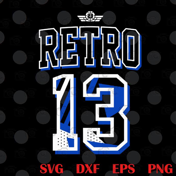 Bundle Digital Jordan 13 Hyper Black Royal, The Air Jordan 13 Retro, Michael