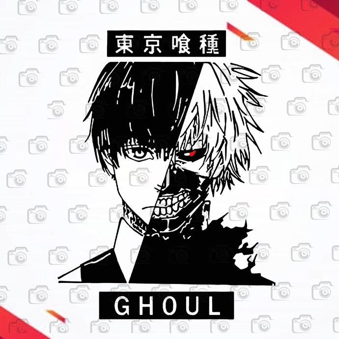 Tokyo Ghoul Harajuku Anime  Svg, Japan Gift Anteiku Coffee Svg, Anime SVg,