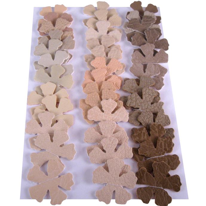 Desert Earth Tones Vinyl Die Cut Flowers
