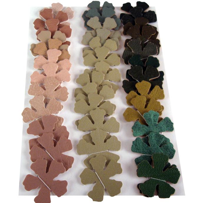 Colors of Fall Vinyl Die Cut Flowers