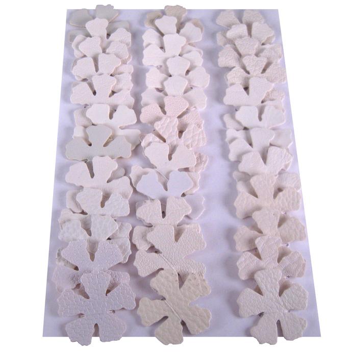 Shades of White Vinyl Die Cut Flower set
